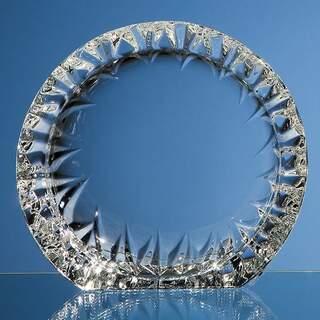16.5cm Mario Cioni Lead Crystal Tech Roundel