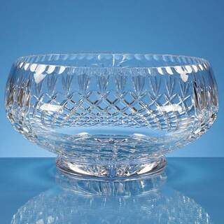 25cm Lead Crystal Presentation Bowl