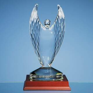 23.5cm Mario Cioni Lead Crystal Victor Award