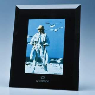 Black Surround Glass Frame for 4inchinch x 6inchinch Photo  H or V